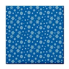 Xmas Pattern Tile Coasters by Valentinaart