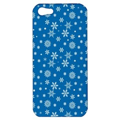 Xmas Pattern Apple Iphone 5 Hardshell Case by Valentinaart