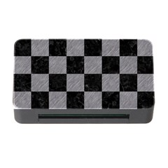 Square1 Black Marble & Gray Colored Pencil Memory Card Reader With Cf by trendistuff