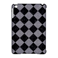 Square2 Black Marble & Gray Colored Pencil Apple Ipad Mini Hardshell Case (compatible With Smart Cover) by trendistuff