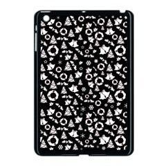 Xmas Pattern Apple Ipad Mini Case (black) by Valentinaart