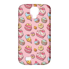 Sweet Pattern Samsung Galaxy S4 Classic Hardshell Case (pc+silicone) by Valentinaart