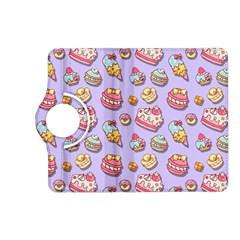 Sweet Pattern Kindle Fire Hd (2013) Flip 360 Case by Valentinaart