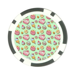Sweet Pattern Poker Chip Card Guard (10 Pack) by Valentinaart
