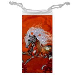 Steampunk, Wonderful Wild Steampunk Horse Jewelry Bag by FantasyWorld7