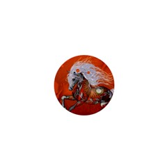 Steampunk, Wonderful Wild Steampunk Horse 1  Mini Buttons by FantasyWorld7