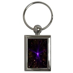 Animation Plasma Ball Going Hot Explode Bigbang Supernova Stars Shining Light Space Universe Zooming Key Chains (rectangle)  by Mariart