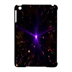 Animation Plasma Ball Going Hot Explode Bigbang Supernova Stars Shining Light Space Universe Zooming Apple Ipad Mini Hardshell Case (compatible With Smart Cover) by Mariart