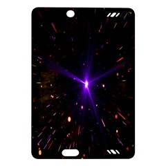 Animation Plasma Ball Going Hot Explode Bigbang Supernova Stars Shining Light Space Universe Zooming Amazon Kindle Fire Hd (2013) Hardshell Case by Mariart