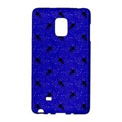 Unicorn Pattern Blue Galaxy Note Edge by MoreColorsinLife