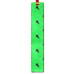 Unicorn Pattern Green Large Book Marks by MoreColorsinLife