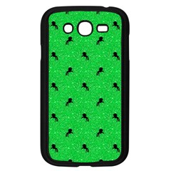 Unicorn Pattern Green Samsung Galaxy Grand Duos I9082 Case (black) by MoreColorsinLife
