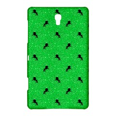 Unicorn Pattern Green Samsung Galaxy Tab S (8 4 ) Hardshell Case  by MoreColorsinLife
