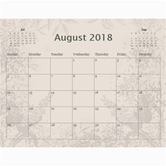 Jane Coffee And Cream (any Year) 2018 Calendar By Deborah   Wall Calendar 11  X 8 5  (12 Months)   Q76fkighcvzg   Www Artscow Com Aug 2018