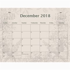 Jane Coffee And Cream (any Year) 2018 Calendar By Deborah   Wall Calendar 11  X 8 5  (12 Months)   Q76fkighcvzg   Www Artscow Com Dec 2018