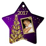 Jane 2017 Star Ornament (2 Sided) - Star Ornament (Two Sides)