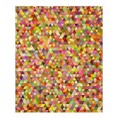 Multicolored Mixcolor Geometric Pattern Shower Curtain 60  X 72  (medium)  by paulaoliveiradesign