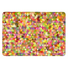 Multicolored Mixcolor Geometric Pattern Samsung Galaxy Tab 8 9  P7300 Flip Case by paulaoliveiradesign