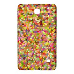 Multicolored Mixcolor Geometric Pattern Samsung Galaxy Tab 4 (8 ) Hardshell Case  by paulaoliveiradesign