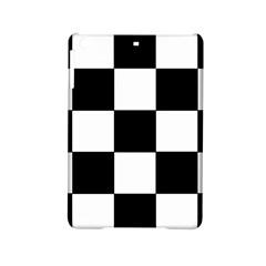 Grid Domino Bank And Black Ipad Mini 2 Hardshell Cases by Nexatart