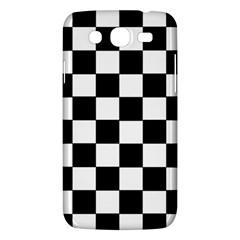 Grid Domino Bank And Black Samsung Galaxy Mega 5 8 I9152 Hardshell Case  by Nexatart