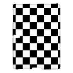 Grid Domino Bank And Black Samsung Galaxy Tab S (10 5 ) Hardshell Case  by Nexatart