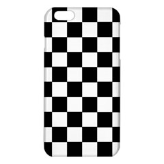 Grid Domino Bank And Black Iphone 6 Plus/6s Plus Tpu Case by Nexatart