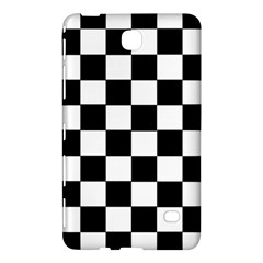 Grid Domino Bank And Black Samsung Galaxy Tab 4 (8 ) Hardshell Case  by Nexatart
