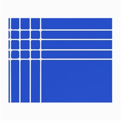 Stripes Pattern Template Texture Blue Small Glasses Cloth by Nexatart