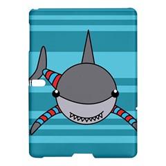Shark Sea Fish Animal Ocean Samsung Galaxy Tab S (10 5 ) Hardshell Case  by Nexatart