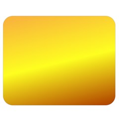 Gradient Orange Heat Double Sided Flano Blanket (medium)  by Nexatart