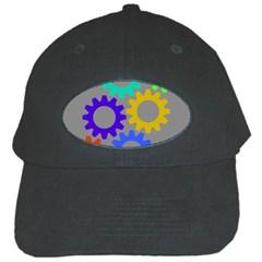 Gear Transmission Options Settings Black Cap by Nexatart