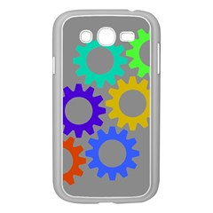 Gear Transmission Options Settings Samsung Galaxy Grand Duos I9082 Case (white) by Nexatart