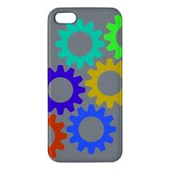 Gear Transmission Options Settings Iphone 5s/ Se Premium Hardshell Case by Nexatart