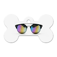 Sunglasses Shades Eyewear Dog Tag Bone (two Sides) by Nexatart