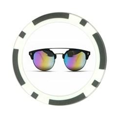 Sunglasses Shades Eyewear Poker Chip Card Guard