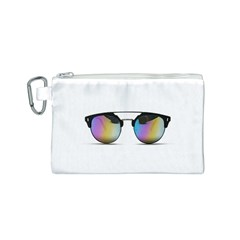 Sunglasses Shades Eyewear Canvas Cosmetic Bag (s) by Nexatart