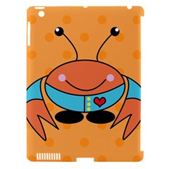 Crab Sea Ocean Animal Design Apple Ipad 3/4 Hardshell Case (compatible With Smart Cover) by Nexatart