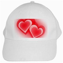 Heart Love Romantic Art Abstract White Cap by Nexatart