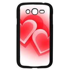 Heart Love Romantic Art Abstract Samsung Galaxy Grand Duos I9082 Case (black) by Nexatart