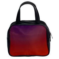 Course Colorful Pattern Abstract Classic Handbags (2 Sides) by Nexatart