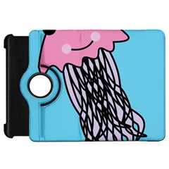 Jellyfish Cute Illustration Cartoon Kindle Fire Hd 7  by Nexatart