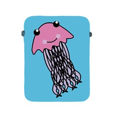 Jellyfish Cute Illustration Cartoon Apple Ipad 2/3/4 Protective Soft Cases by Nexatart