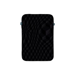 Pattern Dark Black Texture Background Apple Ipad Mini Protective Soft Cases by Nexatart