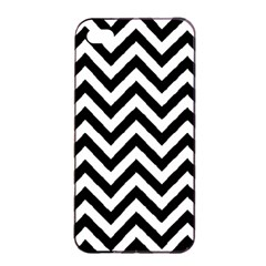 Wave Background Fashion Apple Iphone 4/4s Seamless Case (black) by Nexatart