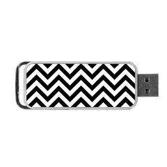 Wave Background Fashion Portable Usb Flash (two Sides) by Nexatart