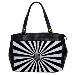 Rays Stripes Ray Laser Background Office Handbags by Nexatart