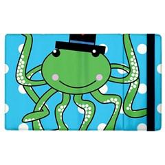 Octopus Sea Animal Ocean Marine Apple Ipad 3/4 Flip Case by Nexatart