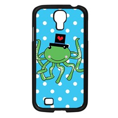 Octopus Sea Animal Ocean Marine Samsung Galaxy S4 I9500/ I9505 Case (black) by Nexatart