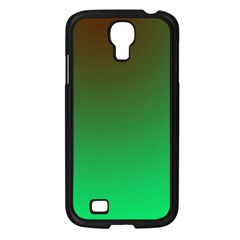 Course Colorful Pattern Abstract Green Samsung Galaxy S4 I9500/ I9505 Case (black) by Nexatart